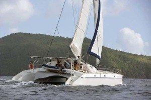 Rail Tides Marine sur catamaran Soubise