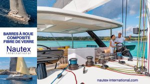 Barres composite Nautex Lagoon 77